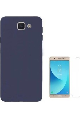 Teleplus Samsung Galaxy J7 Max Lüks Silikon Kılıf + Cam Ekran Koruyucu