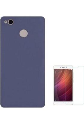 Teleplus Xiaomi Redmi 4X Lüks Silikon Kılıf + Nano Cam Ekran Koruyucu