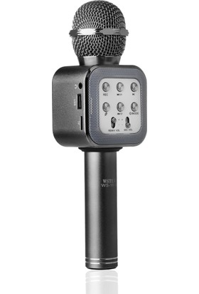 TechnoStyle Profesyonel Ses Kayıt Yapabilen Yeni Nesil Karaoke Mikrofon WS 1818