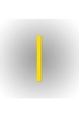 Otografik - Tek Ofsetli Yarış Şeridi Oto Sticker 120X14Cm Sarı