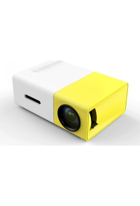 Mastek Led Mini Projeksiyon Cihazı Ev Sineması Hdmi+USB
