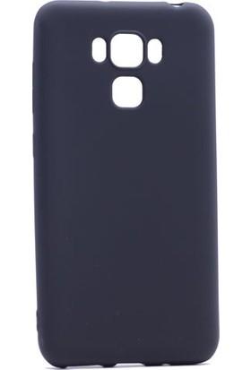 Happyshop Asus Zenfone 3 Max 5.5inç Ze553Kl Kılıf İnce Mat Silikon + Cam