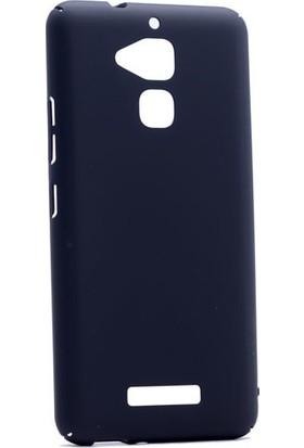Happyshop Asus Zenfone 3 Max Zc520Tl Kılıf İnce Sert Arka Kapak + Cam