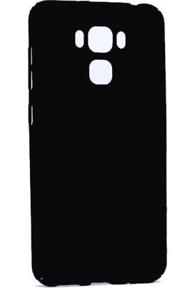 Happyshop Asus Zenfone 3 Max Ze553Kl 5.5 Kılıf İnce Sert Arka Kapak + Cam
