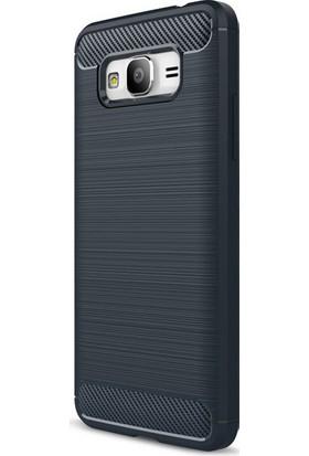 Happyshop Samsung Galaxy J2 Prime Kılıf Ultra Korumalı Room Silikon + Cam