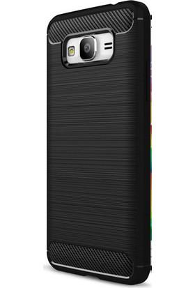 Happyshop Samsung Galaxy J7 2016 Kılıf Ultra Korumalı Room Silikon + Cam