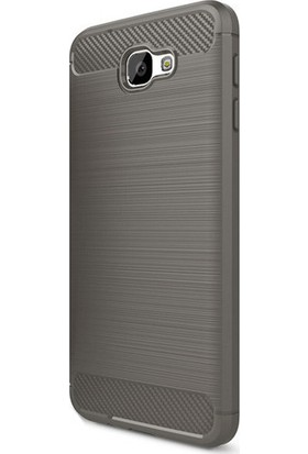 Happyshop Samsung Galaxy J7 Prime Kılıf Ultra Korumalı Room Silikon + Cam