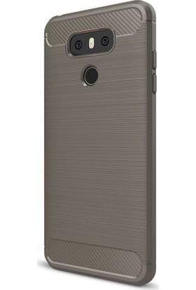 Happyshop Lg G6 Kılıf Ultra Korumalı Room Slikon + Cam