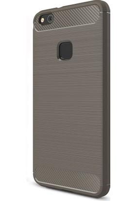Happyshop Huawei P10 Lite Kılıf Ultra Korumalı Room Silikon + Cam