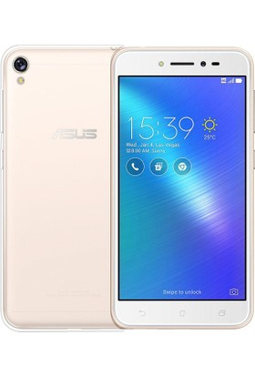 Happyshop Asus Zenfone Live Zb501Kl Kılıf Ultra İnce Şeffaf Silikon + Cam