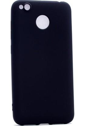 Happyshop Xiaomi Redmi 4X Kılıf İnce Mat Soft Silikon + Cam