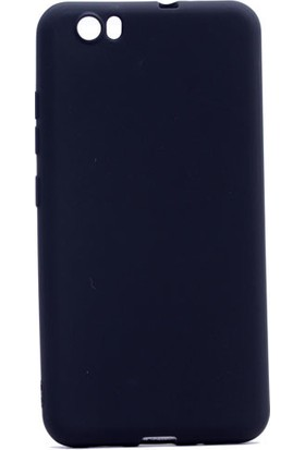 Happyshop Vestel Venus Z10 Kılıf Ultra İnce Mat Silikon + Cam