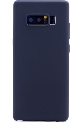 Happyshop Samsung Galaxy Note 8 Kılıf Ultra İnce Mat Silikon
