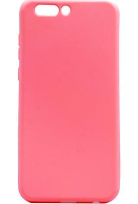Happyshop Asus Zenfone 4 Ze554Kl Kılıf Ultra İnce Mat Silikon + Cam