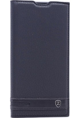 Happyshop Asus Zenfone 4 Max Zc554Kl Kılıf Gizli Mıknatıslı Kapaklı + Cam
