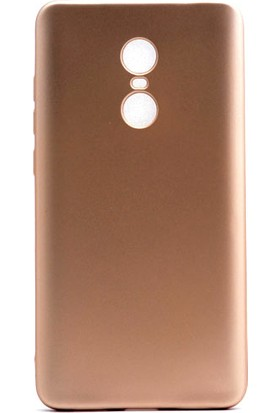 Happyshop Xiaomi Redmi Note 4 Kılıf Ultra İnce Mat Silikon + Cam