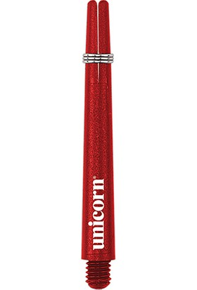 Unicorn 78711 Gripper III Dart Şaft Seti Kırmızı Orta