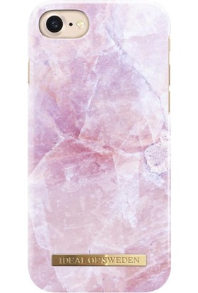 iDeal of Sweden iPhone 8 Plus - 7 Plus - 6S Plus - 6 Plus Pilion Pink Marble Arka Kapak