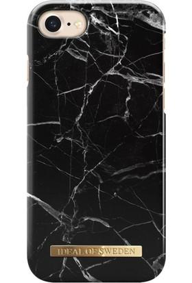 iDeal of Sweden iPhone 8-7-6S-6 Black Marble Arka Kapak