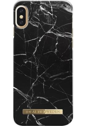 iDeal of Sweden iPhone X Black Marble Arka Kapak