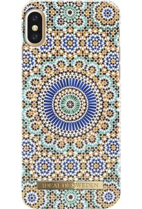 iDeal of Sweden iPhone X Moroccan Zellige Arka Kapak