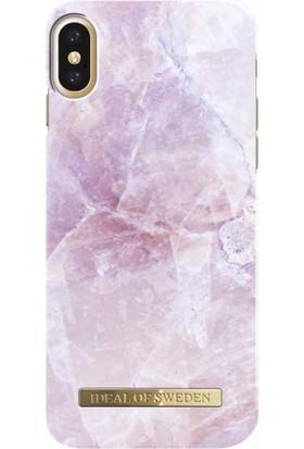 iDeal of Sweden iPhone X Pilion Pink Marble Arka Kapak