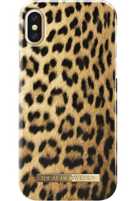 iDeal of Sweden iPhone X Wıld Leopard Arka Kapak