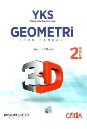 Çözüm Yayınları Hocalara Geldik Yks 2.Oturum 3D Geometri Soru Bankası