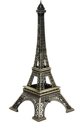 Küçük Boy Minyatür Metal Eyfel Kulesi (18x7)
