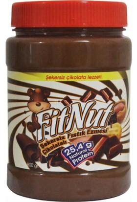 FitNut Şekersiz Çikolatalı Fıstık Ezmesi (800gr)
