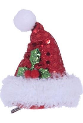 KullanAtMarket Simli Yılbaşı Şapkası Toka