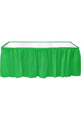 KullanAtMarket Yeşil Plastik Masa Eteği