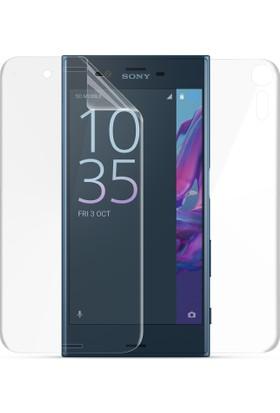Microsonic Sony Xperia XZ Ön + Arka Kavisler Dahil Tam Ekran Kaplayıcı Film