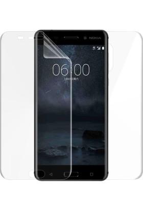 Microsonic Nokia 6 Ön + Arka Kavisler Dahil Tam Ekran Kaplayıcı Film