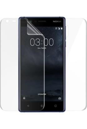 Microsonic Nokia 3 Ön + Arka Kavisler Dahil Tam Ekran Kaplayıcı Film