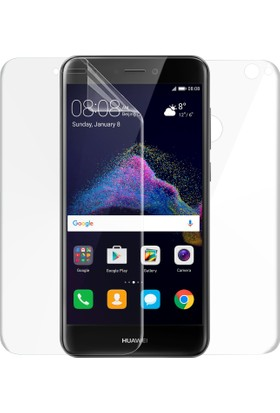 Microsonic Huawei P9 Lite 2017 Ön + Arka Kavisler Dahil Tam Ekran Kaplayıcı Film