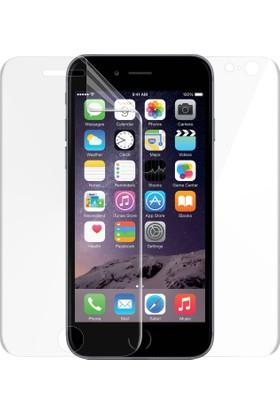 Microsonic Apple iPhone 6 Ön + Arka Kavisler Dahil Tam Ekran Kaplayıcı Film
