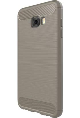 Microsonic Samsung Galaxy C7 Pro Kılıf Room Silikon