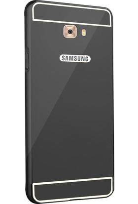 Microsonic Samsung Galaxy C5 Pro Kılıf Luxury Mirror