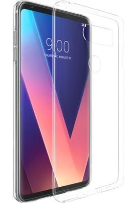 Microsonic LG V30 Plus Kılıf Transparent Soft Şeffaf