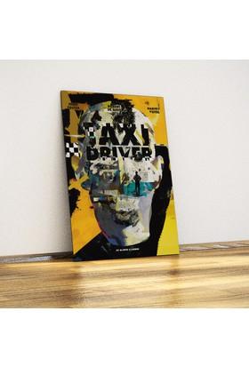 Taxi Driver - Dekoratif Metal Poster
