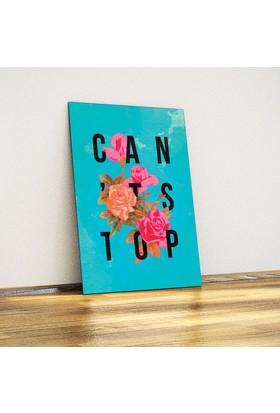 Can't Stop! - Dekoratif Metal Poster