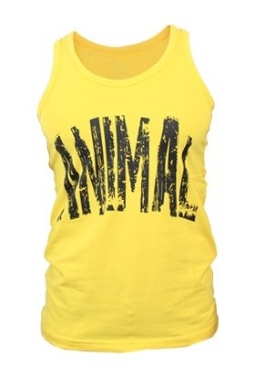 Supplementler Animal Tank Top - Sarı - Siyah