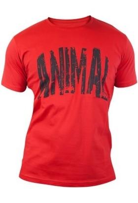 Supplementler Animal T-Shirt - Kırmızı Siyah