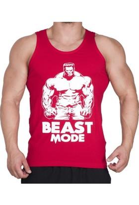 Supplementler Beast Mode Hlk Tank Top - Kırmızı
