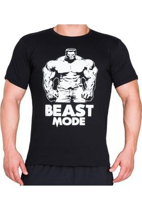 Supplementler Beast Mode Hlk T-Shirt - Siyah