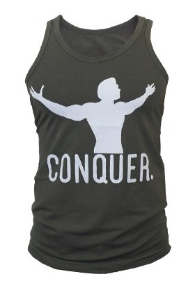 Supplementler Conquer Tank Top - Yeşil - Gri