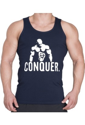 Supplementler Posing Conquer Tank Top - Lacivert