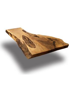 SZN Wood Kütük Masa Ceviz Bora 127x59cm