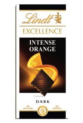 Lindt Excellence Dark Intense Orange Chocolate Portakallı Bitter Çikolata 100 gr
